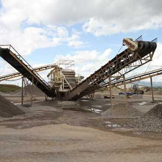 aggregate products conveyors