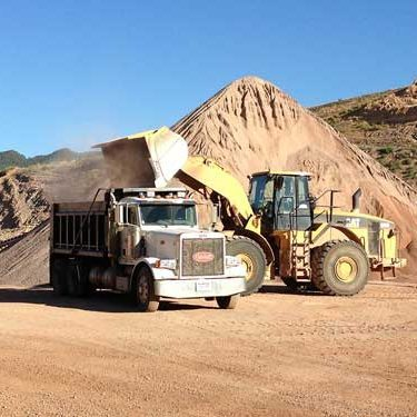 aggregate machinery in Carbondale CO stone pit